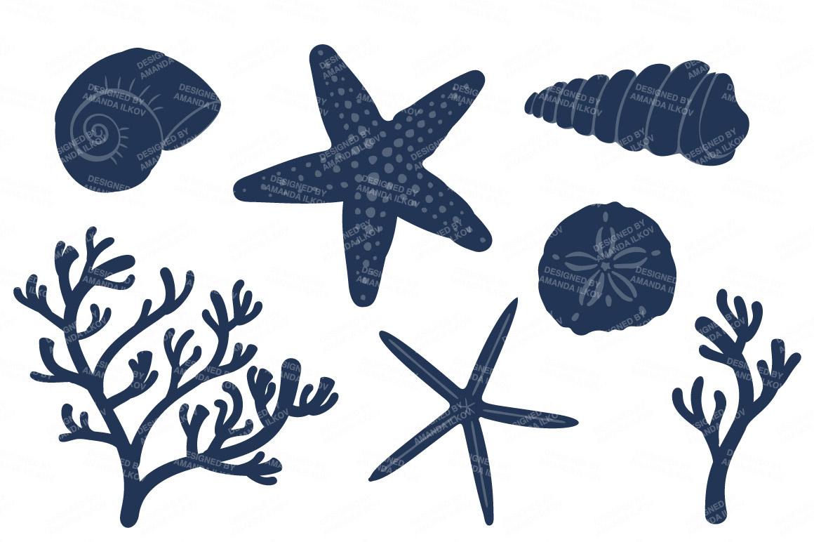 Seashore shells cliparts clipartix. Shell clipart coral clipart