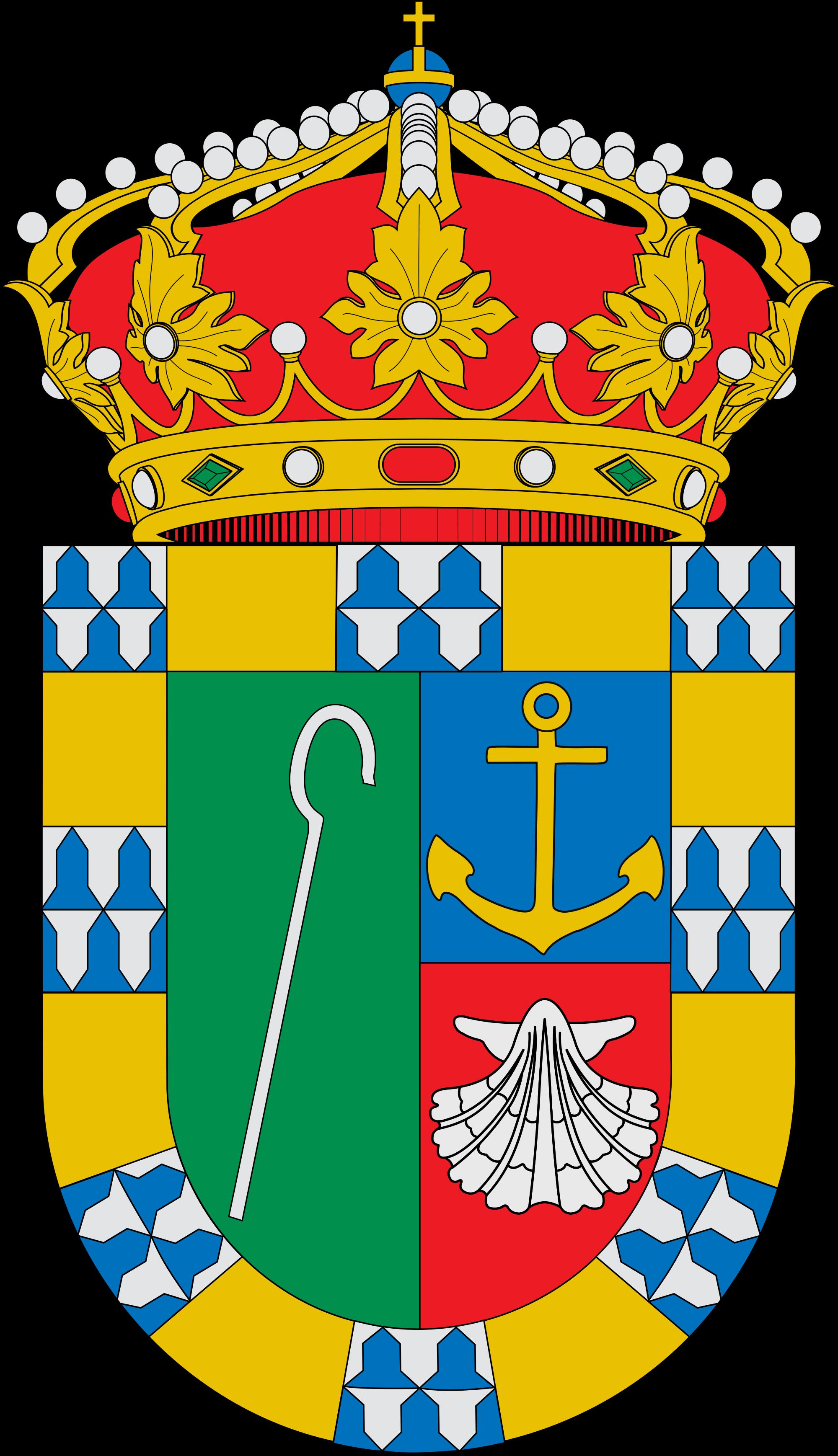 File escudo de ruesga. Shell clipart escallop