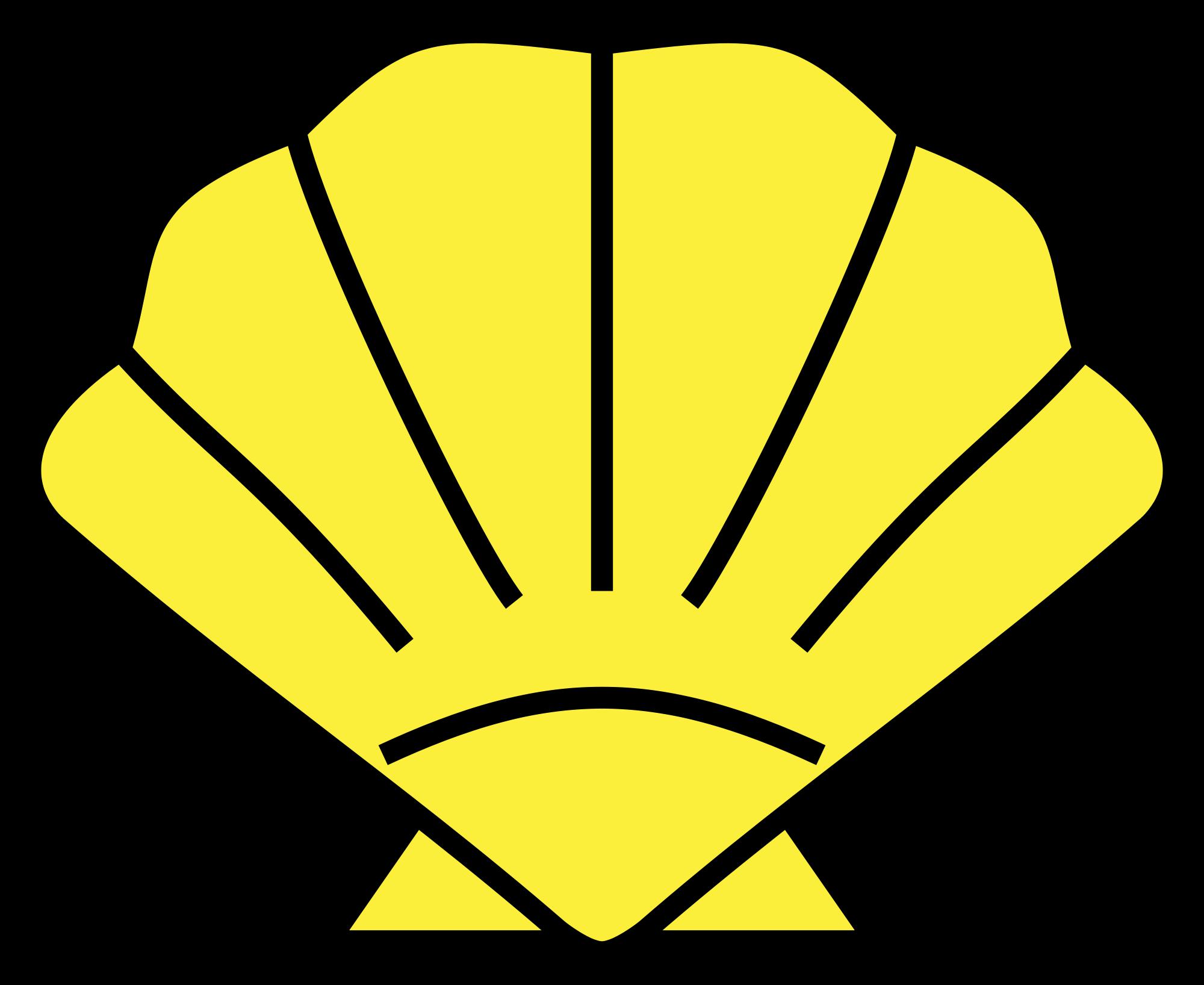 Shell clipart escallop. File svg wikimedia commons