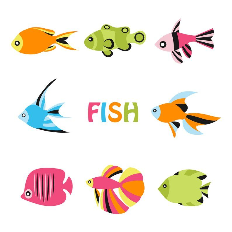 Shell clipart fish. Under the sea ocean