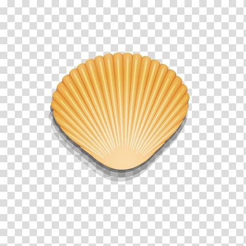 Shell clipart gold clipart. Seashell mollusc spiral golden