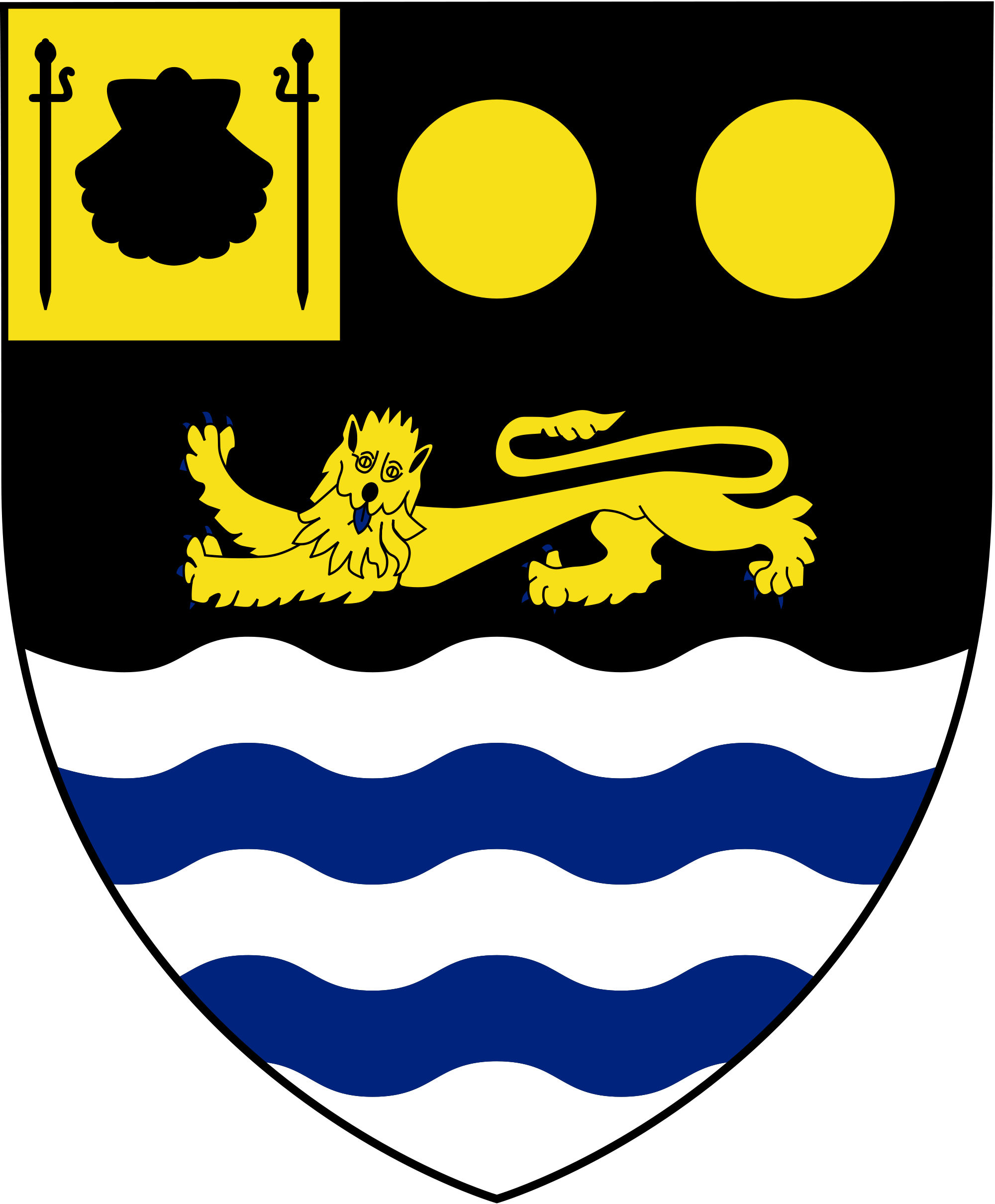 File arms of john. Shell clipart heraldic scallop