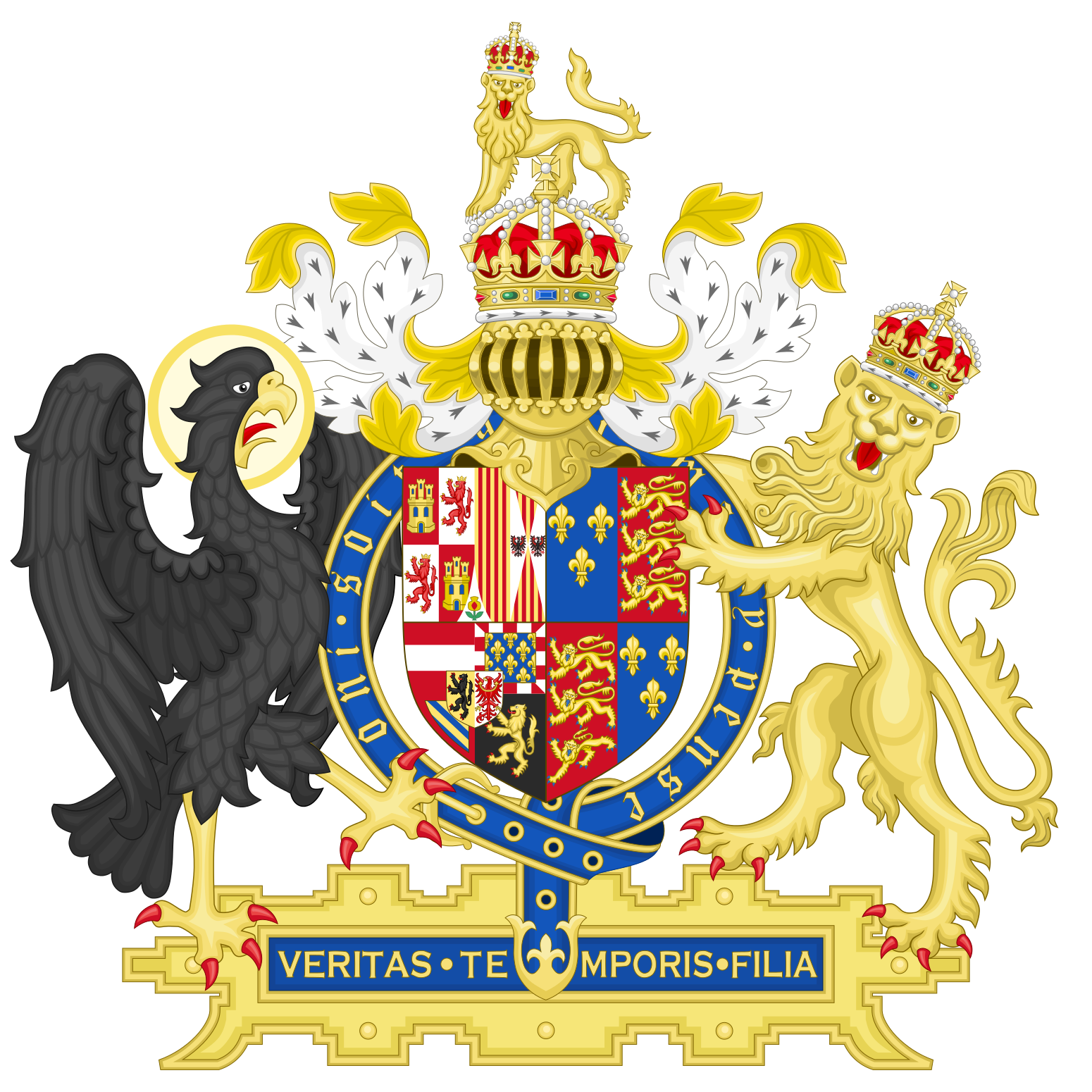 Coat of arms england. Shell clipart heraldic scallop