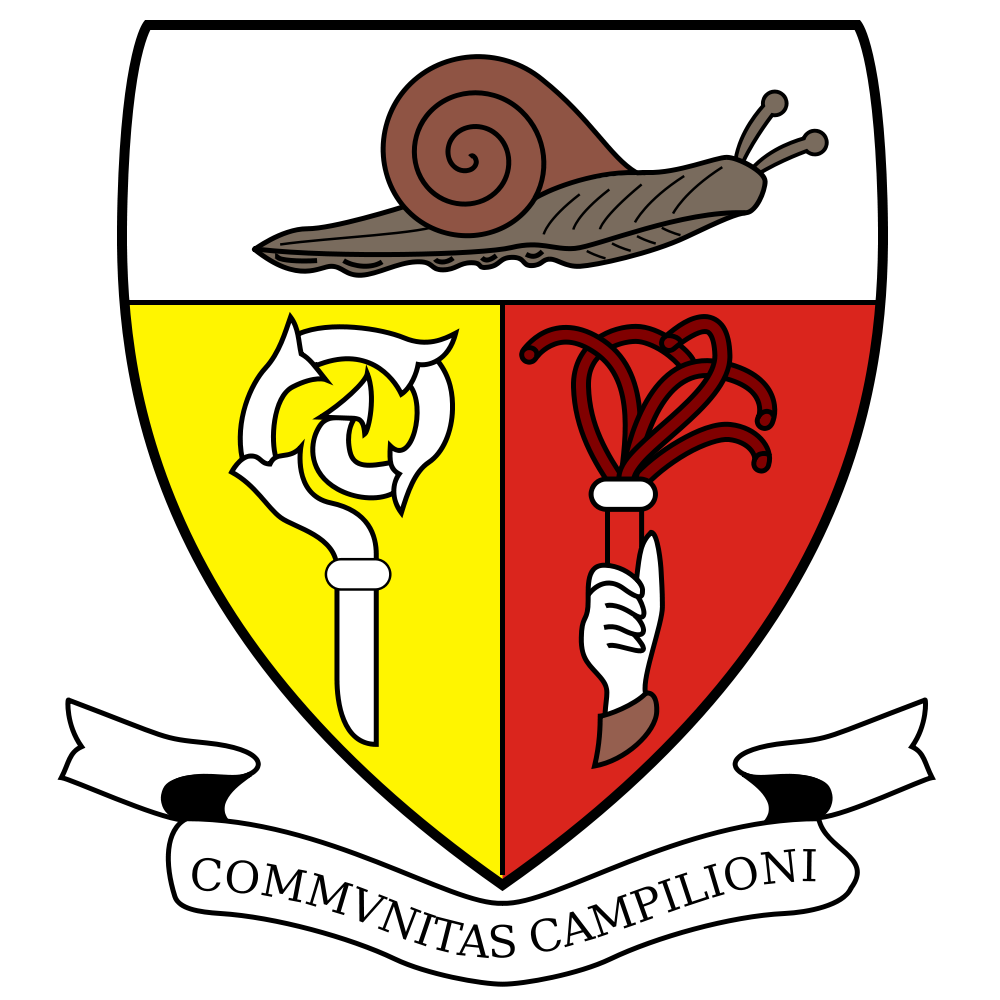 Hunting for snails itcampioneditalia. Shell clipart heraldry
