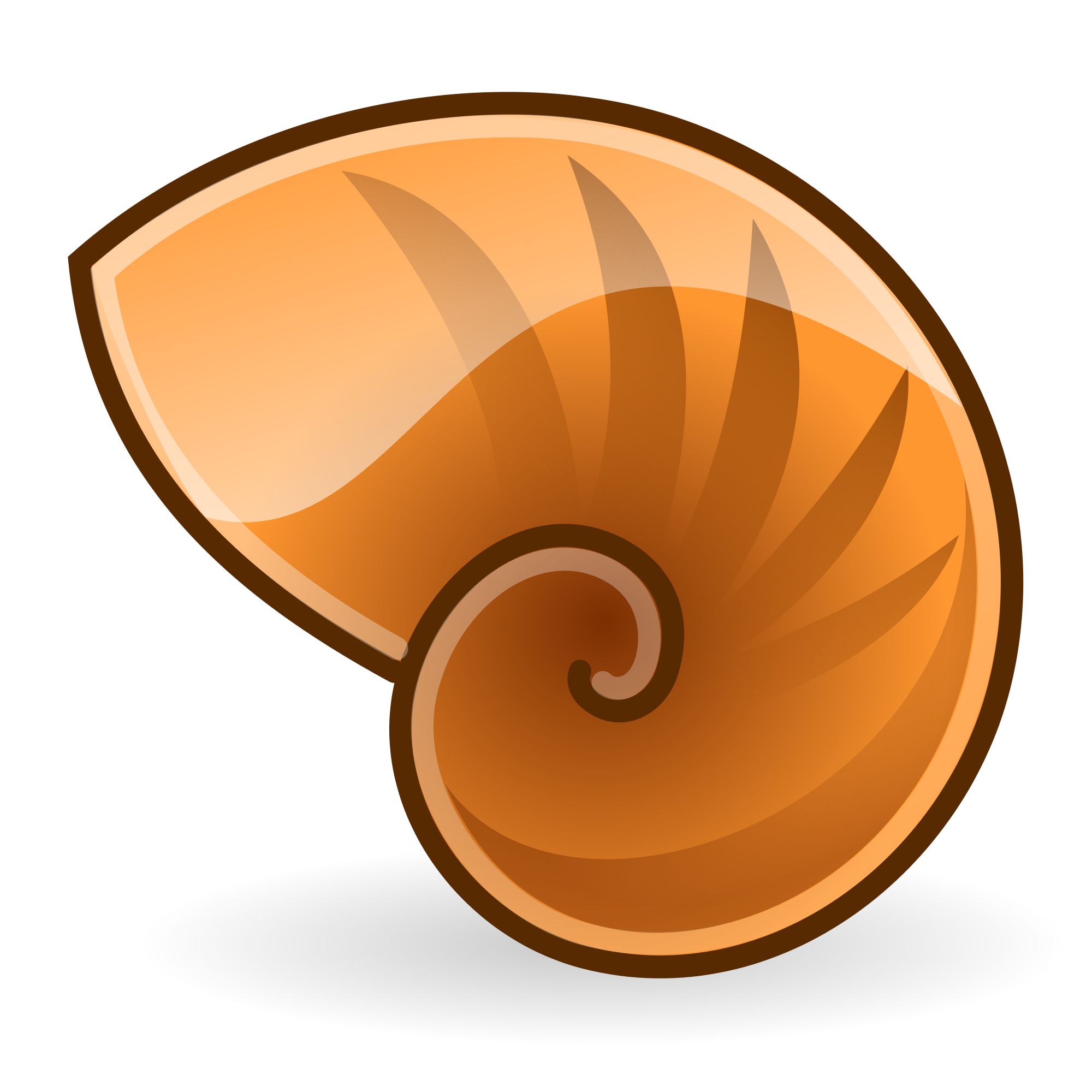 File icon svg wikimedia. Shell clipart nautilus
