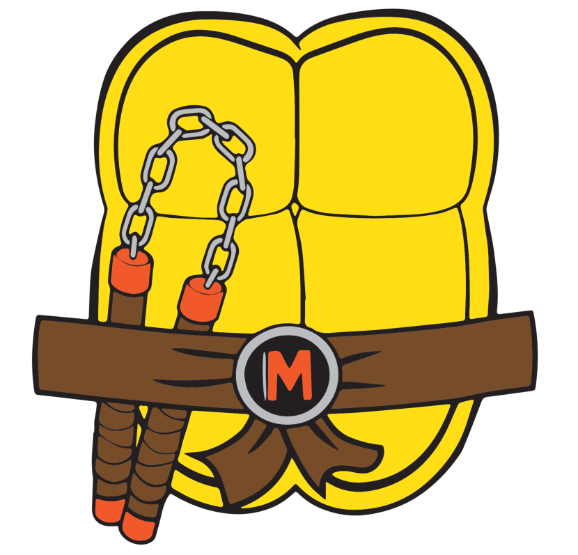 Ninja turtle clip art. Shell clipart page