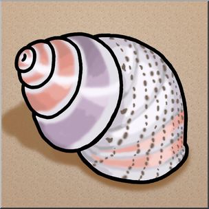 Clip art seashells color. Shell clipart periwinkle