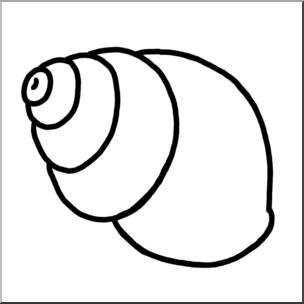 Clip art seashells b. Shell clipart periwinkle
