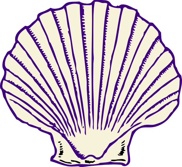 Shell clipart red clipart. Purple clip art at