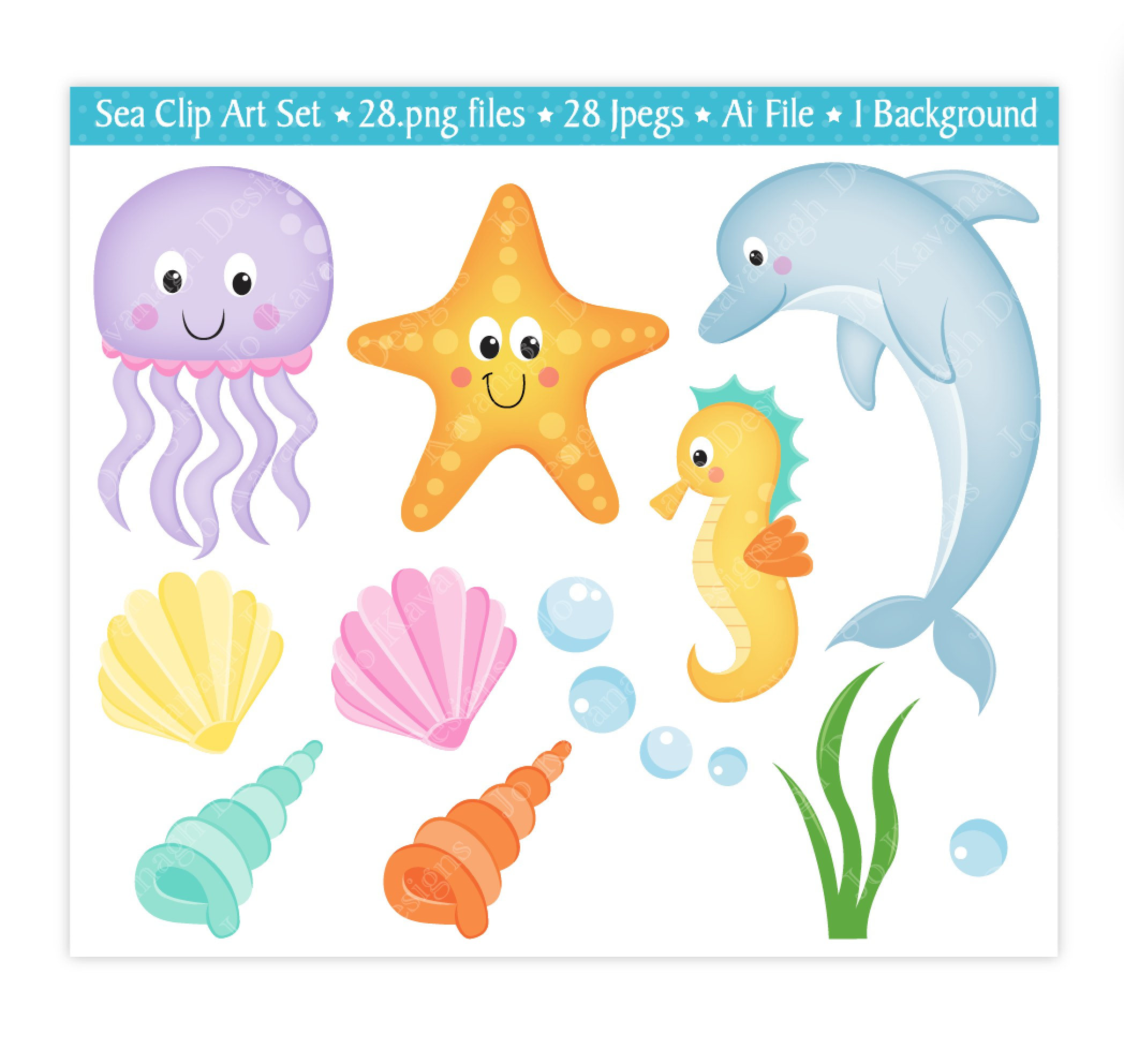 Free download best . Shell clipart sea creature