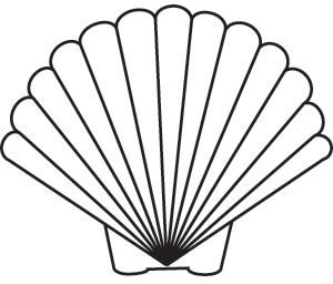 clip art clipartlook. Shell clipart shell scallop
