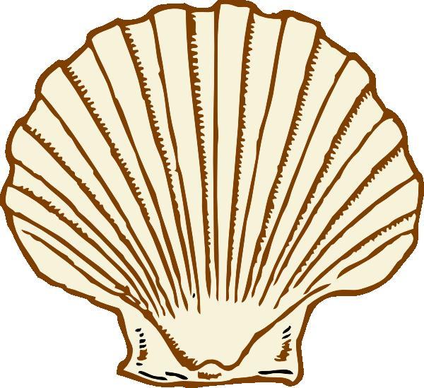Shell clipart shell spiral. Purple clip art at