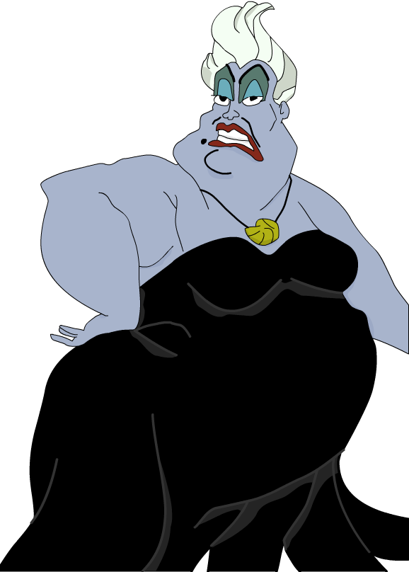 Shell clipart shell ursula. The little mermaid why
