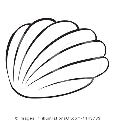 Sea picture free download. Shell clipart simple