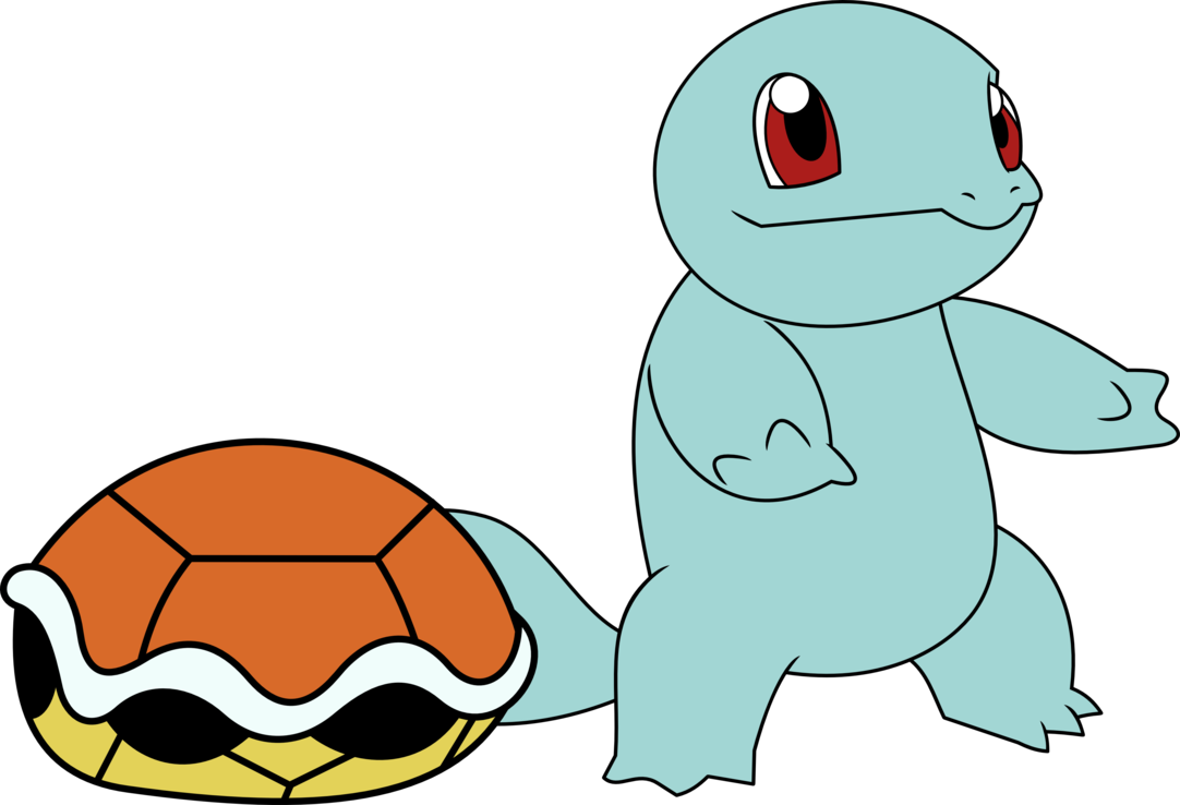 Squirtle au naturel by. Shell clipart teal