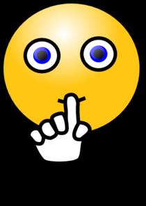 Shhh clipart. Quiet sign clip art