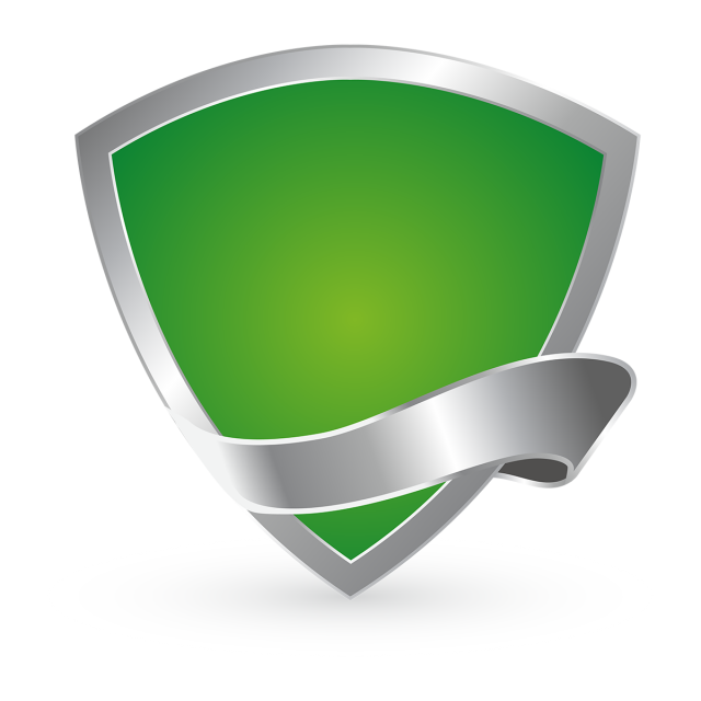 Golden shields logo icon. Shield vector png