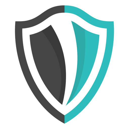 Logo emblem design transparent. Shield vector png