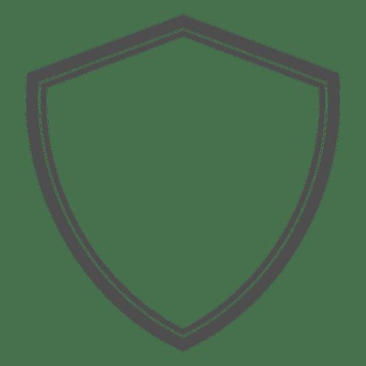 Shield vector png. Heraldic emty transparent svg