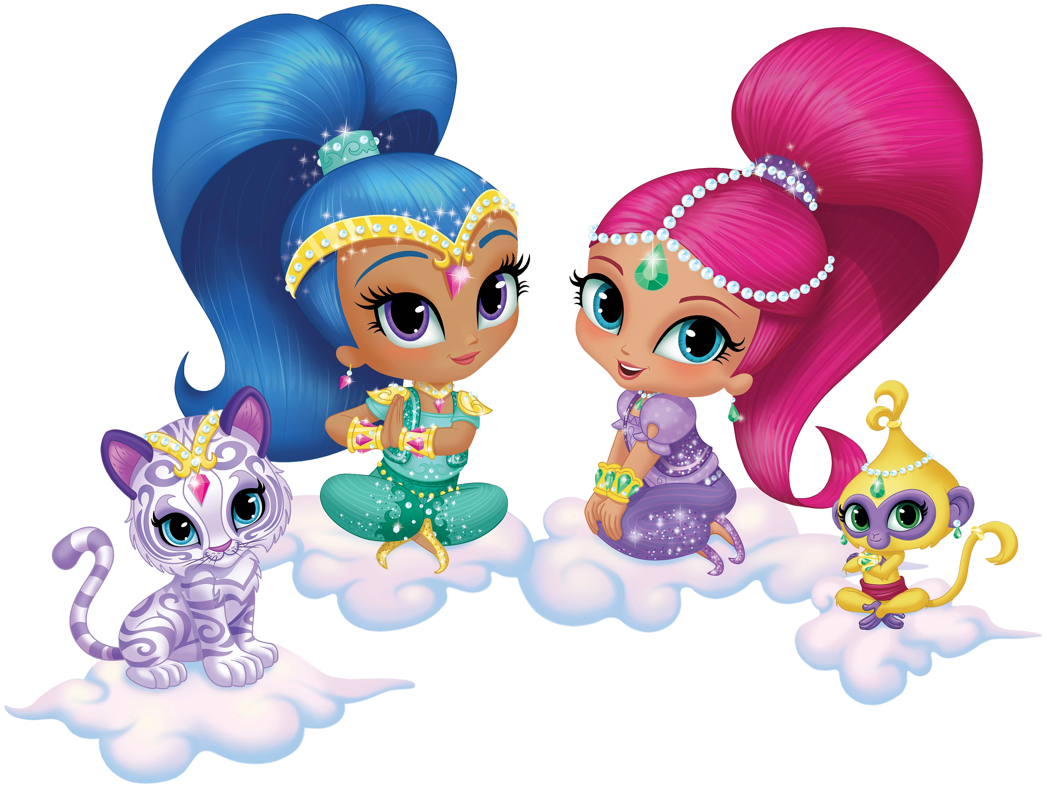 Transparent cartoon image gallery. Shimmer and shine png images