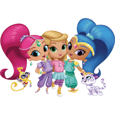 Shimmer and shine png images. Transparent stickpng friends