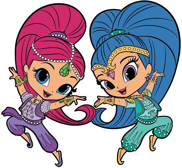 Clipart cartoon clip art. Shimmer and shine png images
