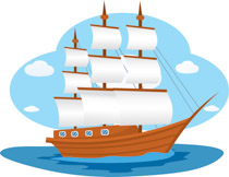 Free and ships clip. Boats clipart yacht