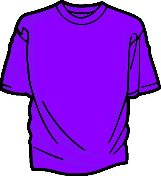 Shirt clipart. T purple clip art
