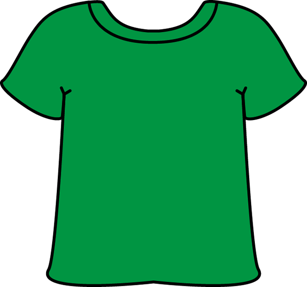 T clip art images. Clipart shirt day