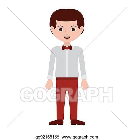 Shirt clipart man shirt. Eps vector with formal