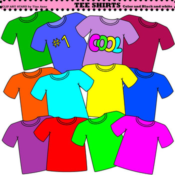 Shirts clipart. Clip art t by