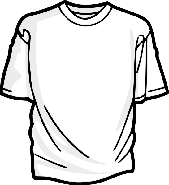 Shirt clipart t shirt. Blank clip art free