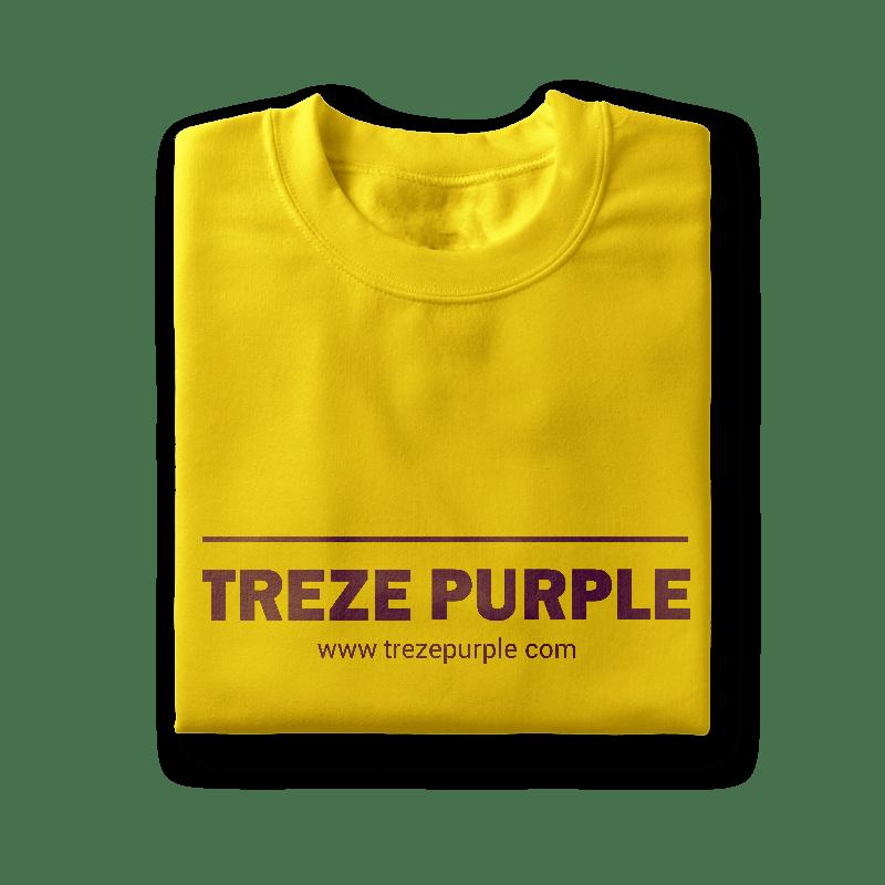 Shirts clipart folded shirt. Treze purple you are