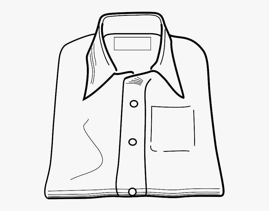 Dress cotton sh clip. Shirts clipart folded shirt
