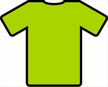 Free green t shirt. Shirts clipart
