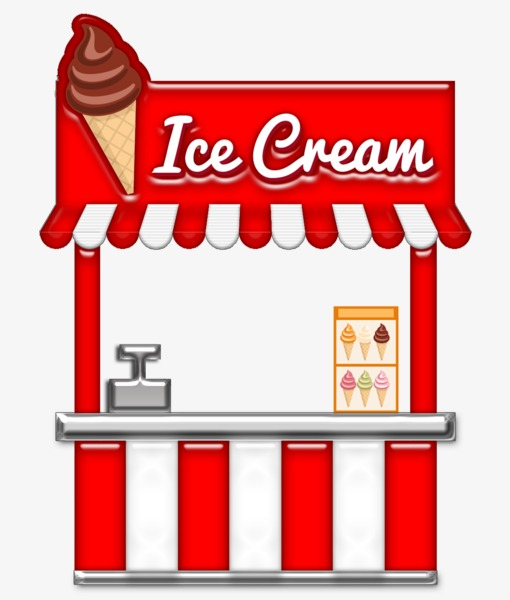Shop clipart. Ice cream cones png