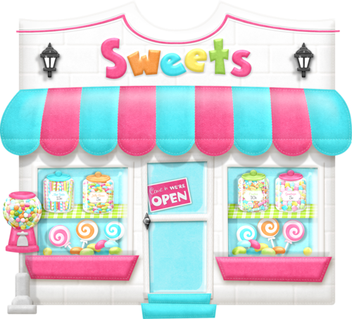 Candyshop maryfran png pinterest. Shop clipart