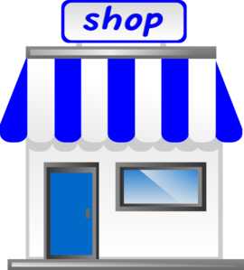 With awning clip art. Shop clipart