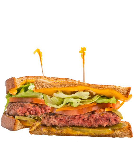 Shop clipart burger store. Huey s meat our