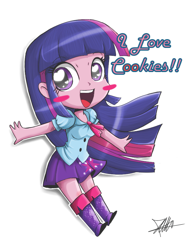 Shop clipart butcher. Equestria chibi girl by