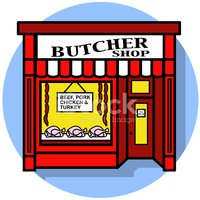 Shop clipart butcher. Icon stock vectors me