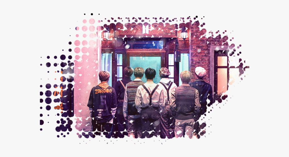 Bts magic th muster. Shop clipart crowded