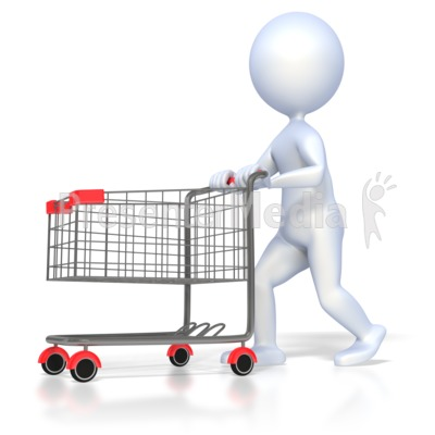 Shopping station . Shop clipart customer