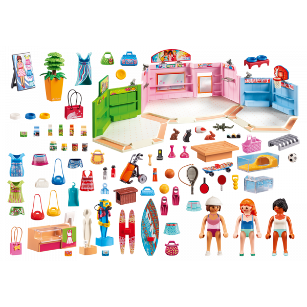 Shop clipart shopping plaza. Playmobil