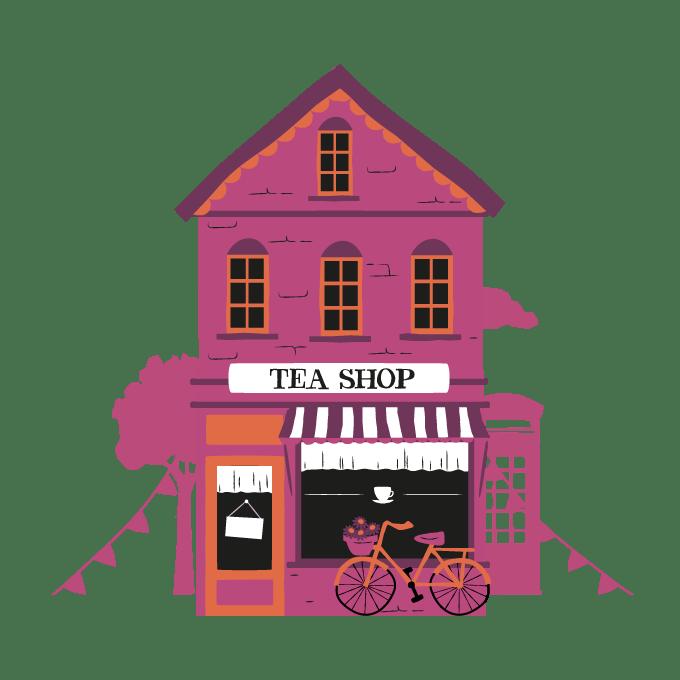 Shop clipart tea shop. Awards clipper teas what