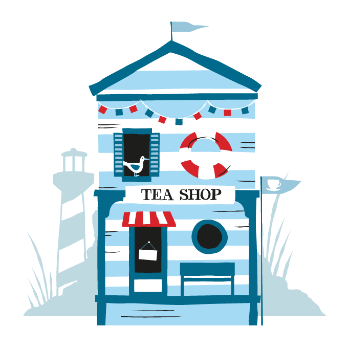 Awards clipper teas more. Shop clipart tea shop