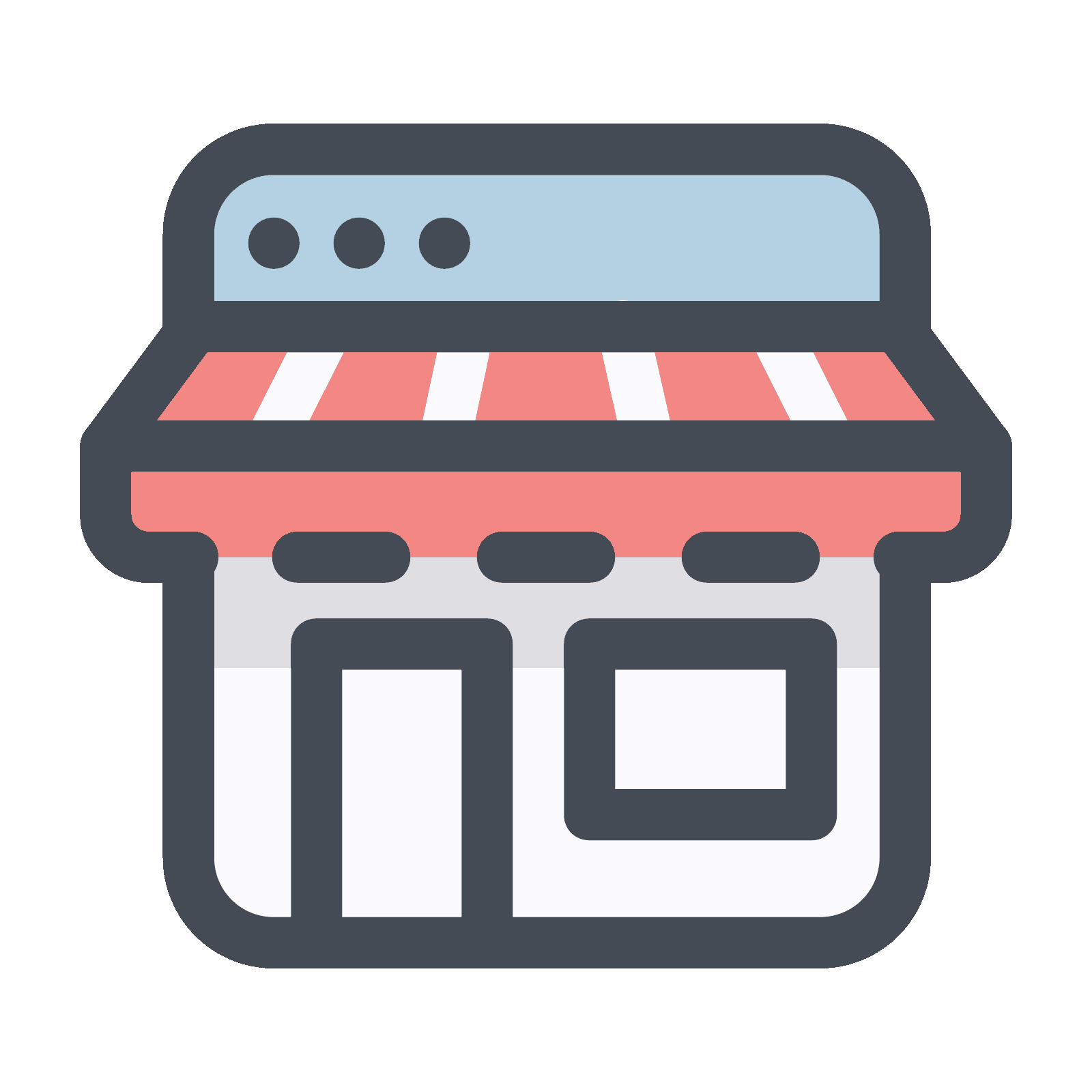Store icon clipart labs. Png to vector online