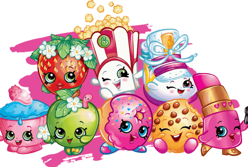 Shopkins png images. You and your kids