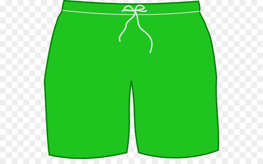 Short clipart. T shirt shorts swimsuit