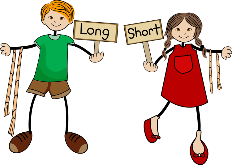 Short clipart. Long and